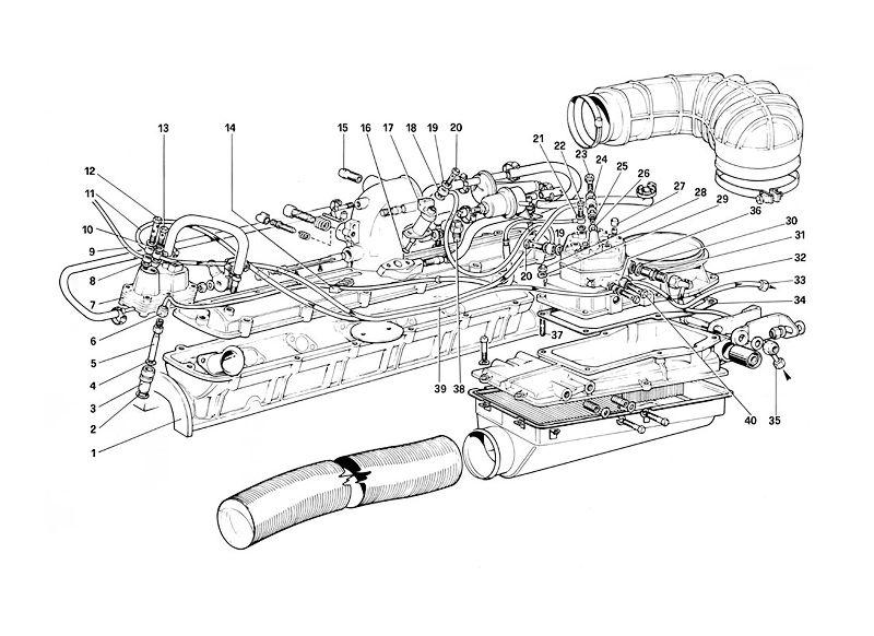 Ferrari 308 328 Mondail 8 0438100034 Repair Kit for Bosch Fuel Distributor