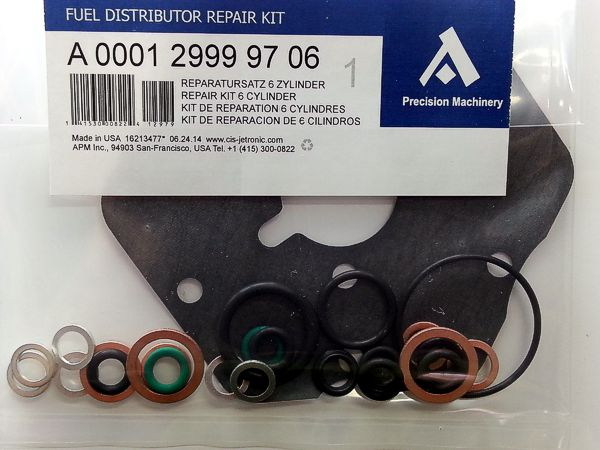 Full Repair Kit For 6 Cyl Bosch Fuel Distributor Ke