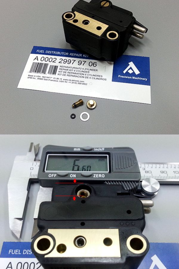 0438101012 Repair Kit For Bosch Fuel Distributor Mercedes
